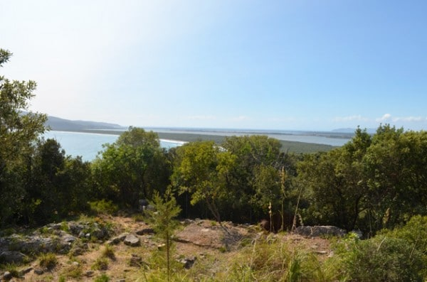 The view at Cosa - Maremma