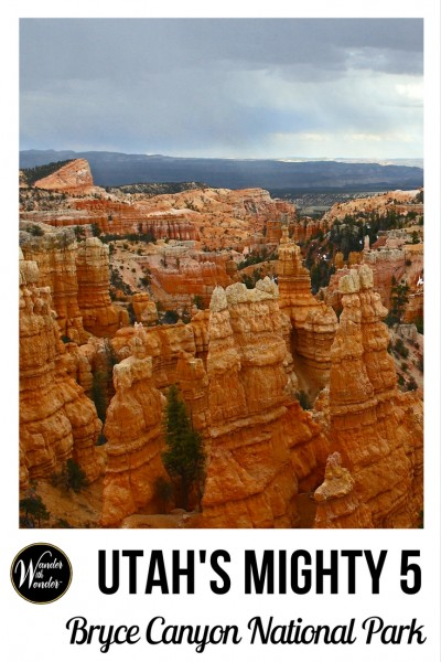 Bryce Canyon National Park is the youngest of the Utah's Mighty 5 National Parks. Find wow moments looking at the hoodoo rock formations at Inspiration Point or other overlooks. #BryceCanyon #NationalParks #Utah #Mighty5 #adventure