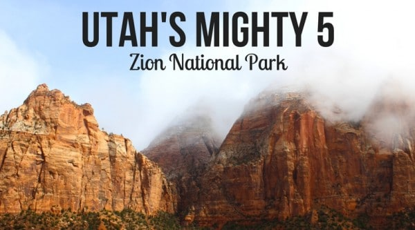 The Mighty Five Utah Map.Utah S Mighty 5 National Parks Discovering Zion National Park