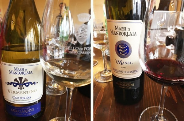 Wines of Massi Di Mandorlaia - Maremma
