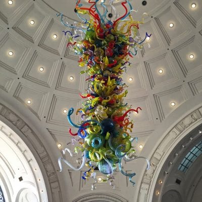 Chihuly Chandelier Tacoma