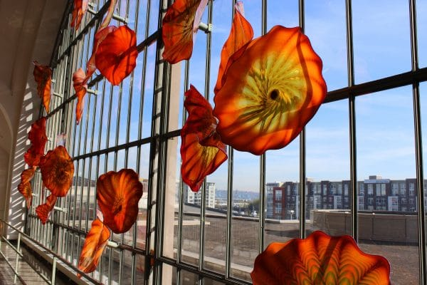 Chihuly Glass Tacoma