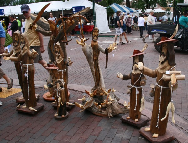 Wood Carvings - Santa Fe Spanish Market
