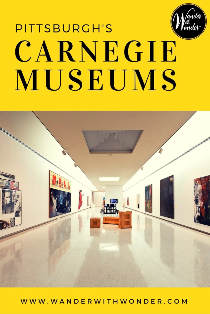 The Carnegie Museums in Pittsburgh, PA consist of four museums—a natural history museum, art museum, science center and The Warhol.