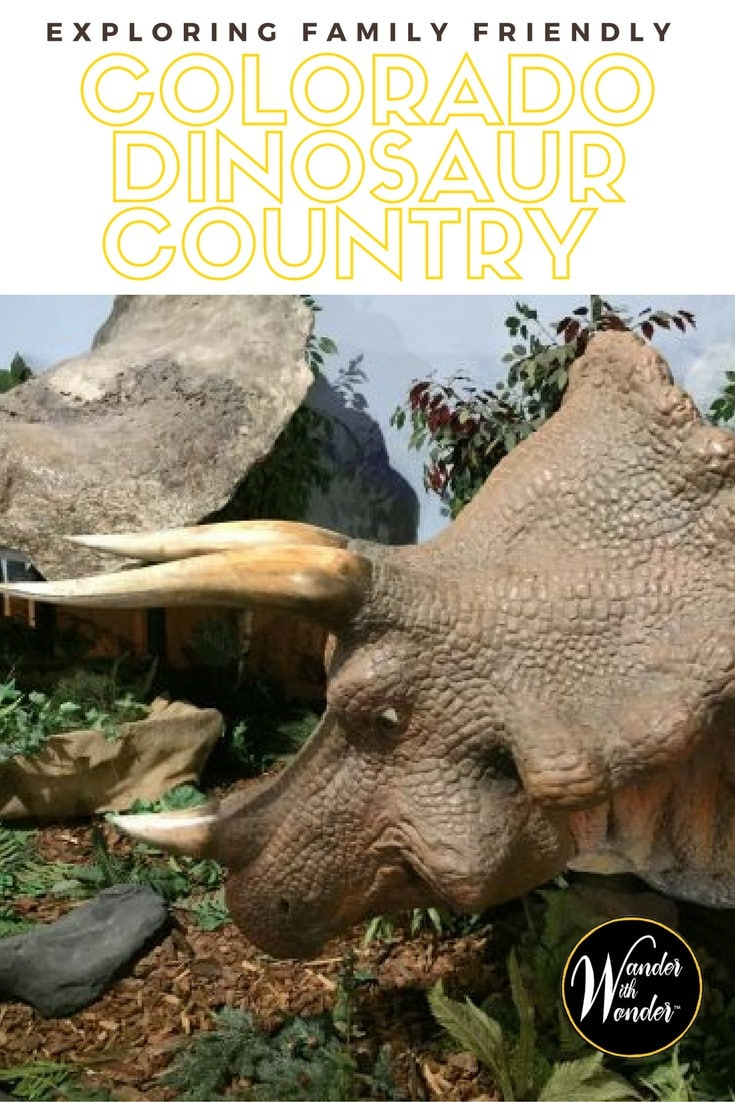 Just outside of Grand Junction, Colorado you'll find yourself in the heart of Colorado dinosaur country! A fun excursion for the whole family!