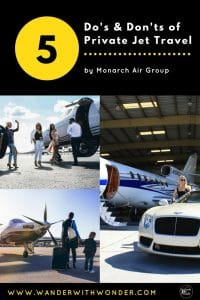 Monarch Air Group, one of South Florida's leading private jet operators, hands out some important tips for that first private jet flight.