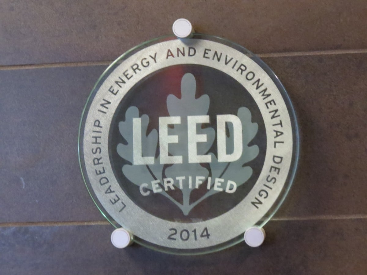 LEED Certification at The Broadway