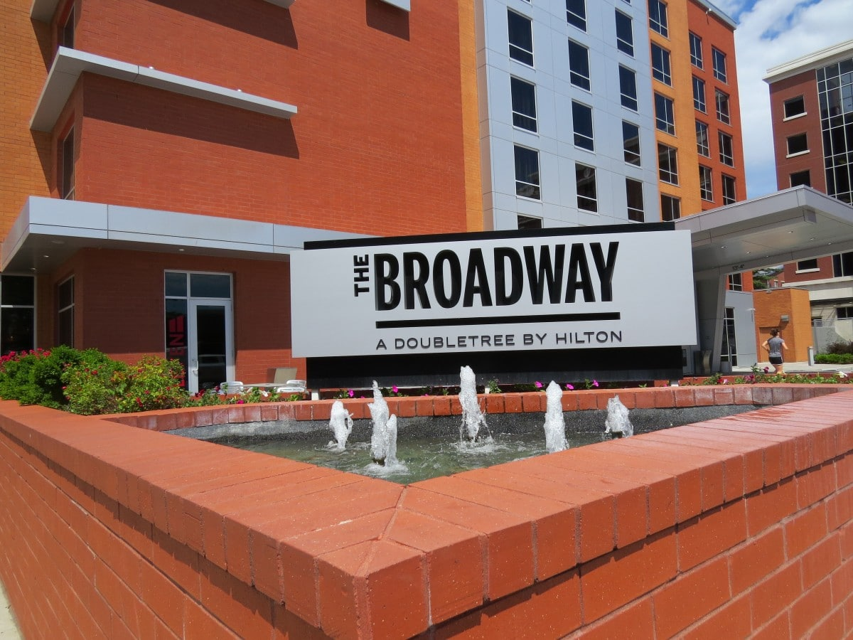 Columbia Missouri's The Broadway — A DoubleTree by Hilton Green Hotel