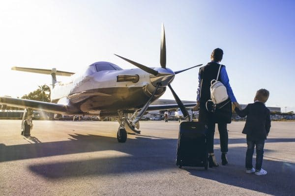 Monarch Air Group offers tips for private jet travel. Photo courtesy Monarch Air Group