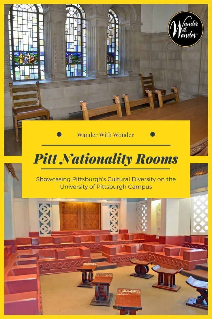 Located on the University of Pittsburgh campus, Pitt Nationality Rooms immerse you in cultures of people who left their native lands to make Pittsburgh home.