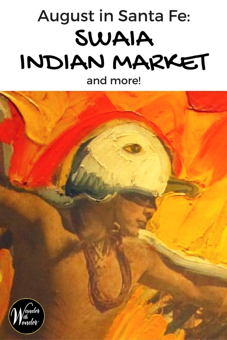 Head to Santa Fe, NM in August to take in all the culture, art, music and more that the SWAIA Indian Market has to offer.