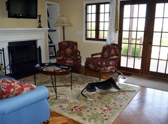 Chaumette Villa Living Room