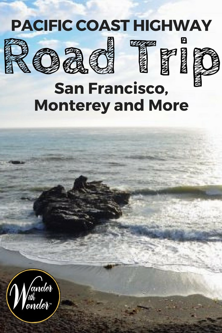 Come along and enjoy a Pacific Coast Highway road trip through San Francisco, Monterey and more with us to escape the summer heat!
