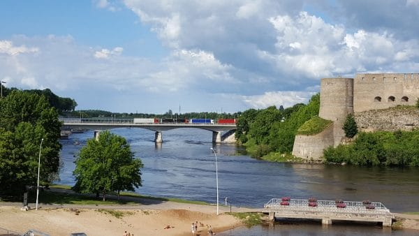 EuroVelo 13 - Narva River Bridge