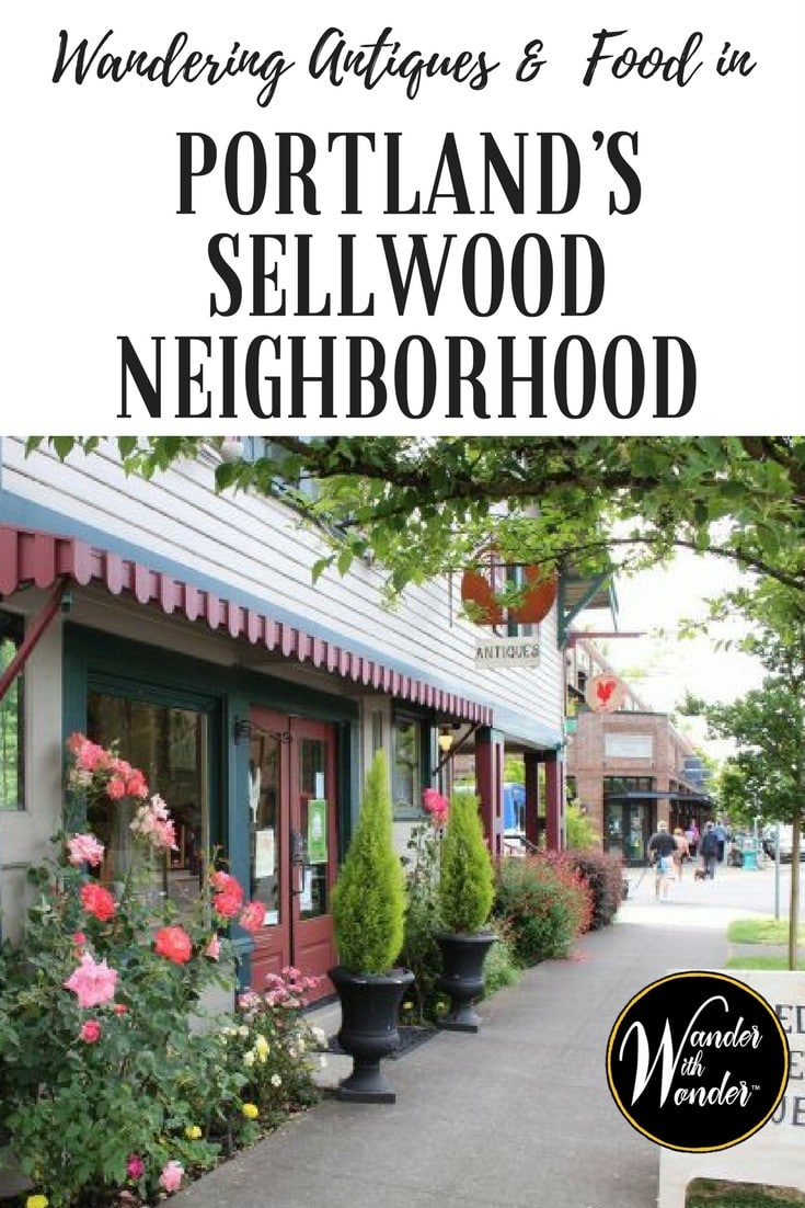 Sellwood is one of those quaint Portland neighborhoods that has been re-discovered join us to wander the antique shops and food in the area