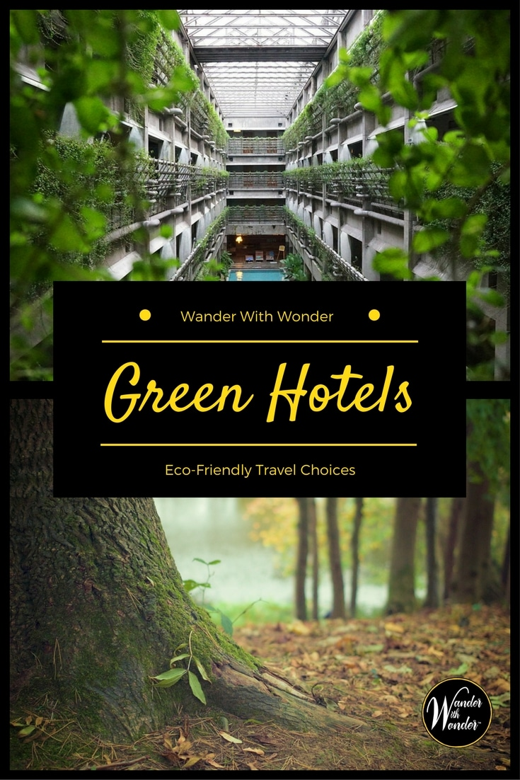 Making green choices when you travel is possible now more than ever. Here are a few guidelines that can help you select green hotels without giving up comfort or luxury.