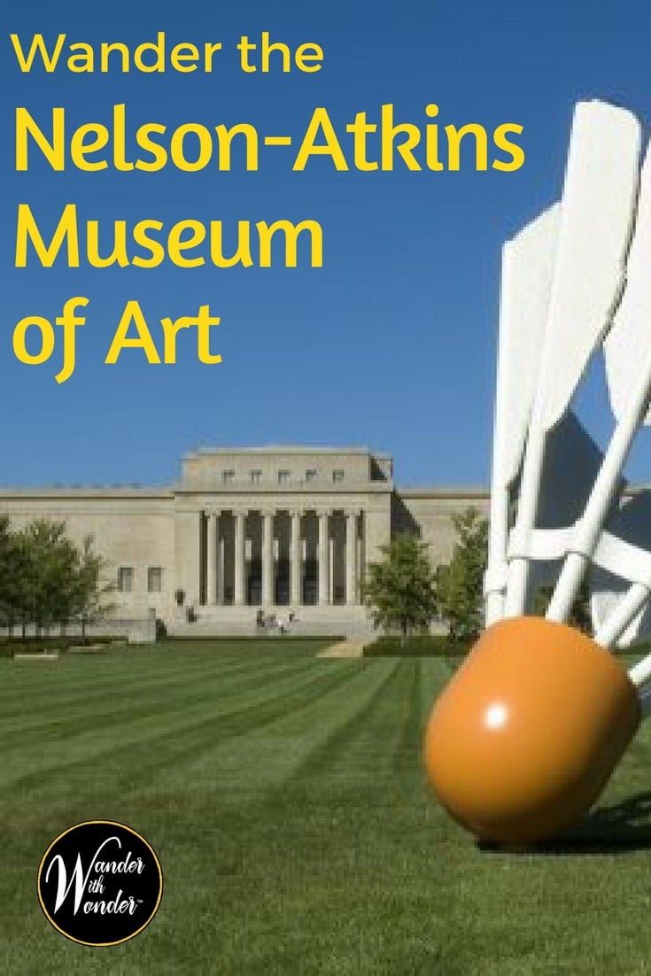 There is so much to see and do in Kansas City but a trip must include a day to wander through the Nelson-Atkins Museum of Art!