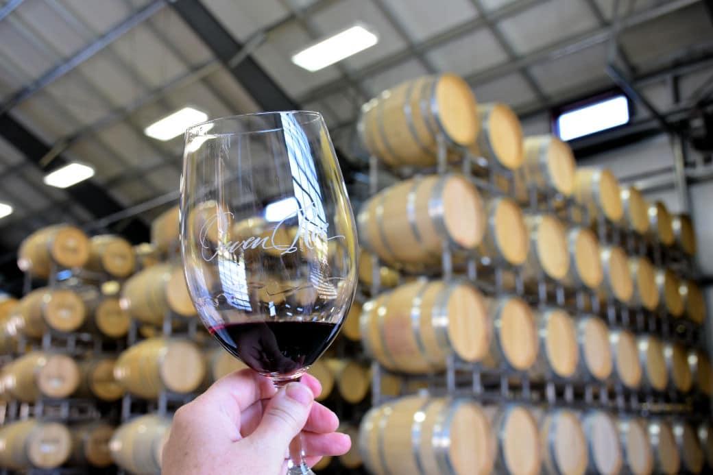 Wine Tasting at Owen Roe. Photo by Lara Dunning