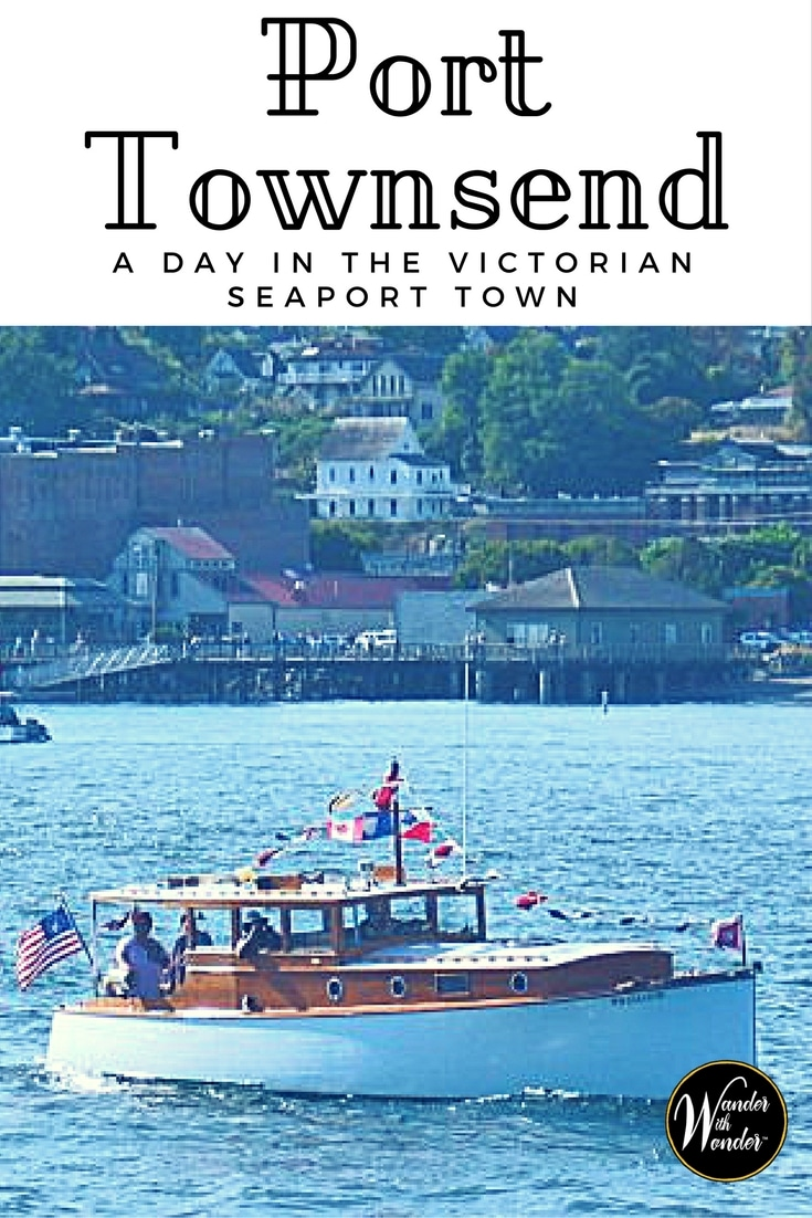 The scenic coastal town of Port Townsend, WA is filled with history, ornate Victorian era homes, art galleries and views of snow-capped Olympic Mountains.