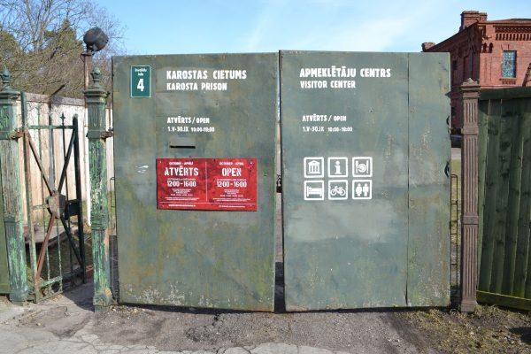 EuroVelo 13 - Sigulda Prison Gates
