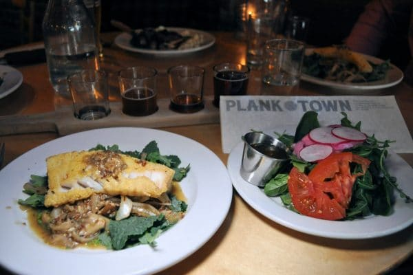 Plank Town Brewing near The Oval Door