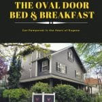 Nate and Brian Foster are owners of The Oval Door Bed & Breakfast in Eugene, OR. Situated close to downtown, the lux inn is perfect for exploring Eugene.