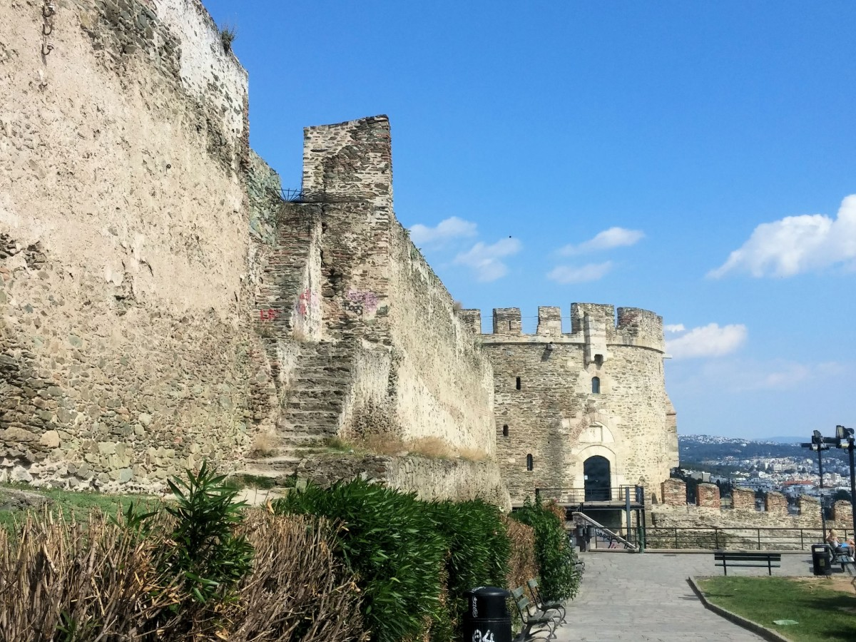 Thessaloniki Greece Fort