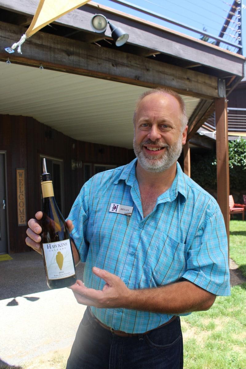 Hawkins Cellars Underwood - Columbia Gorge wine tasting