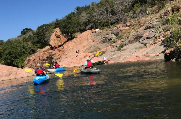 Kayaking Ink Lake