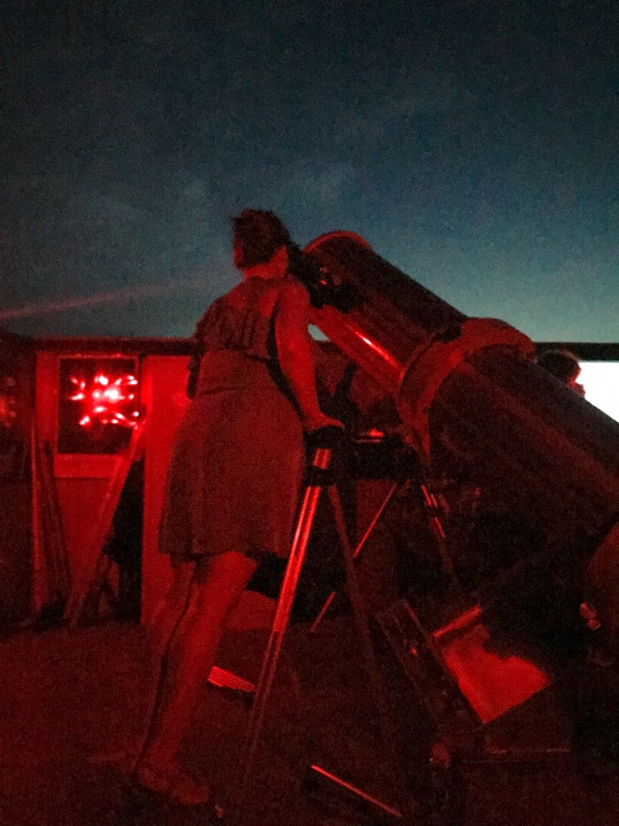 Burnet County, Texas observatory
