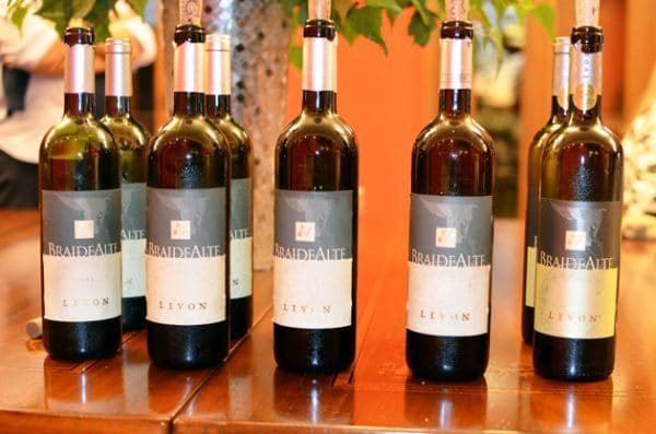 Braide Alte Vertical Tasting at Livon