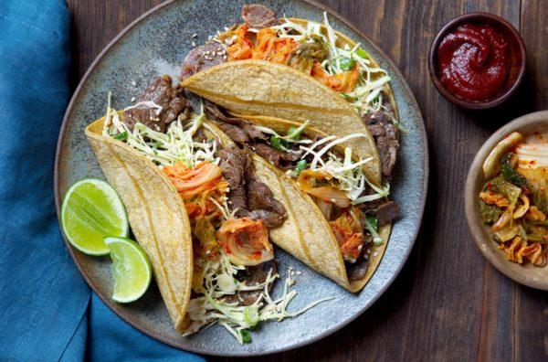 Korean Bulgogi Tacos from Gobble. Photo courtesy Gobble