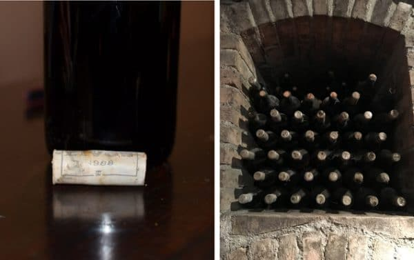 Livon 1988 Cork and The Winery Cellar