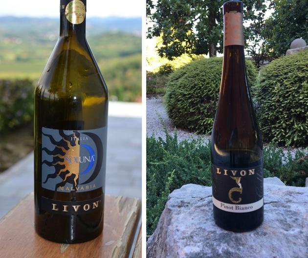Livon Malvasia. and Livon Pinot Bianco