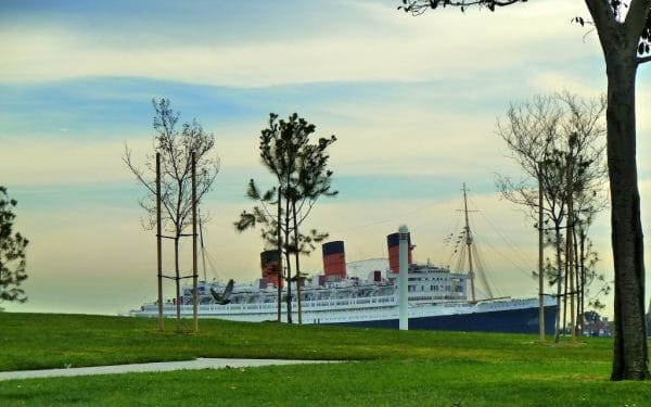 RMS Queen Mary. Photo by Susan Lanier-Graham