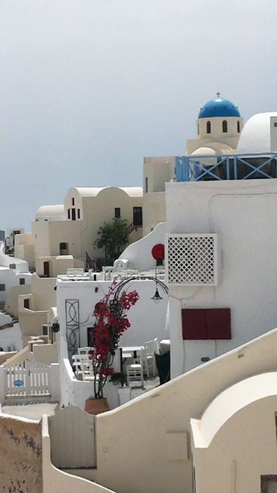 Whitewashed Buildings of Santorini - Santorini Wineries