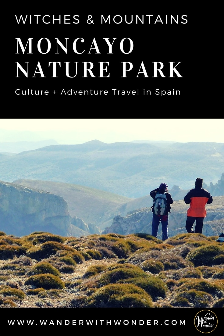 Moncayo Nature Park is unspoiled adventure hiking in central Spain with breathtaking scenery. Go in June each year to catch the witchcraft festival. #adventure #adventuretravel #travel #spain #moncayo #hiking #festivals #food #outdoor #wowmoments #wander