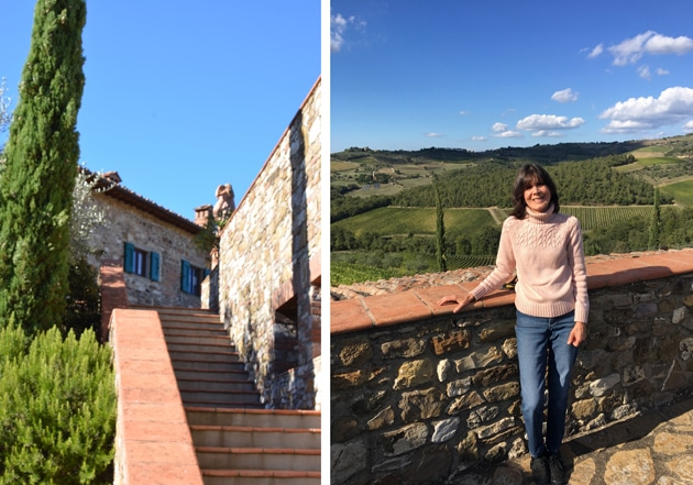 Visiting Borgo Salcentino Winery - Livon