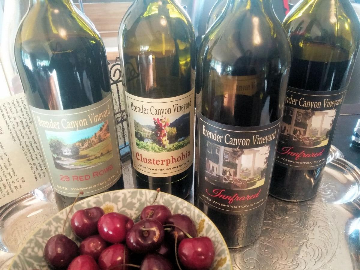 Brender Canyon Vineyard - Warm Springs Inn & Winery