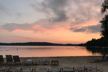 Elkhart Lake Osthoff beach