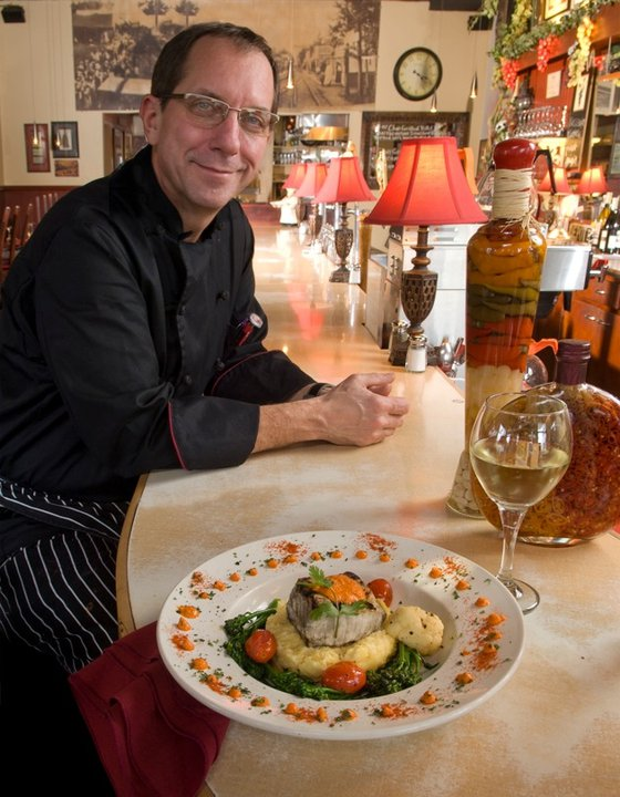 Chef Michael Lalewicz at The Depot Restaurant