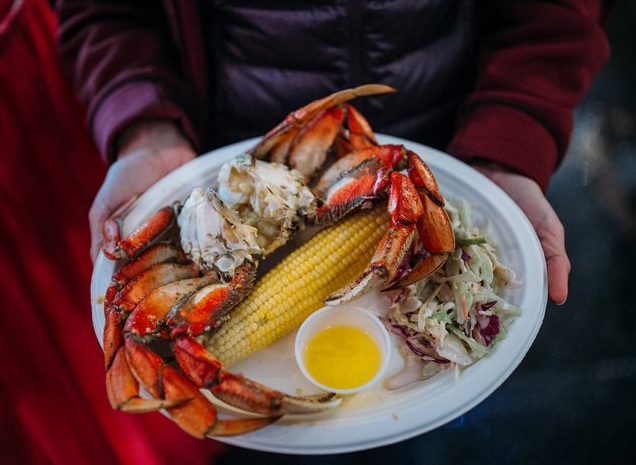 Sequim Washington Dungeness Crab Dinner