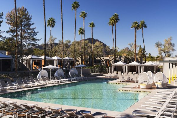 Pool with mountain views. Photo courtesy Andaz Scottsdale Resort & Spa