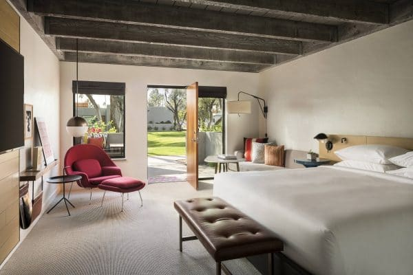 King guestroom. Photo courtesy Andaz Scottsdale Resort & Spa