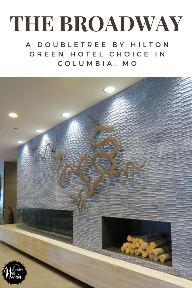 The Broadway — A DoubleTree by Hilton Hotel is a LEED™ Green Certified hotel in Columbia, Missouri's popular arts, shopping and dining district. #hotels #greenhotels #TheBroadway #Missouri