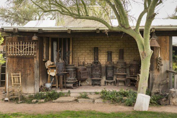 Cattle Track artist's studio. Photo courtesy Andaz Scottsdale Resort & Spa