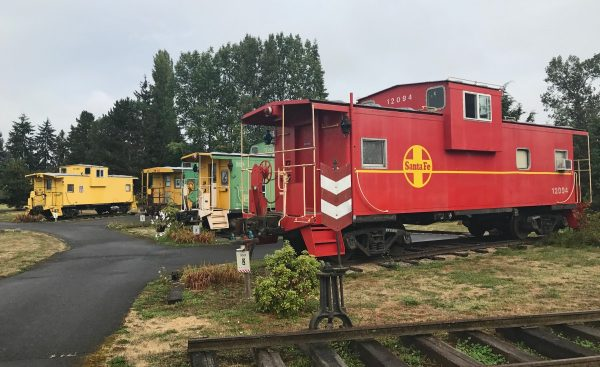 Red Caboose Bed and Breakfast Getaway in Sequim Washington