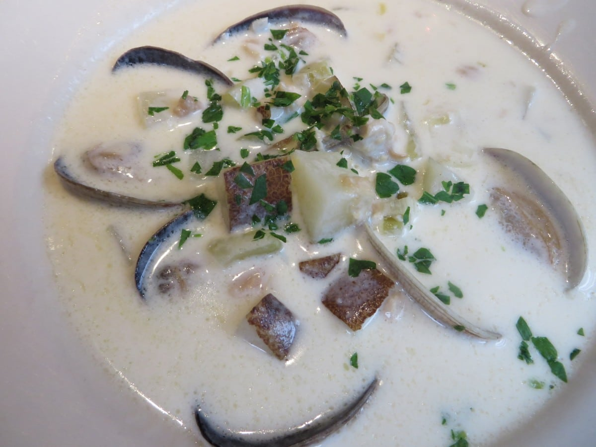 The Depot Restaurant Clam Chowder
