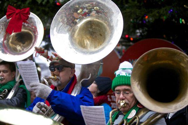 Spots for Christmas in Portland Oregon