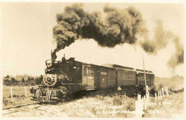 Clamshell Railroad Train - The Depot Restaurant